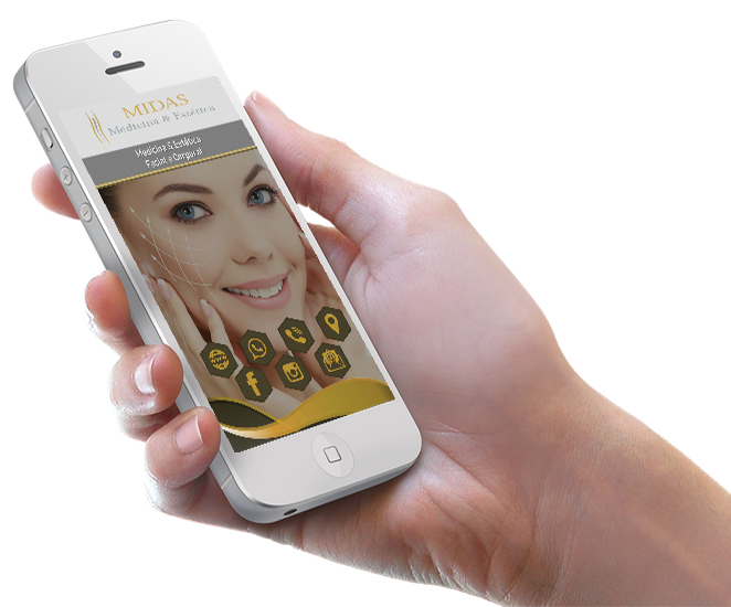Cartão de Visita Virtual Digital Interativo - Midas Med