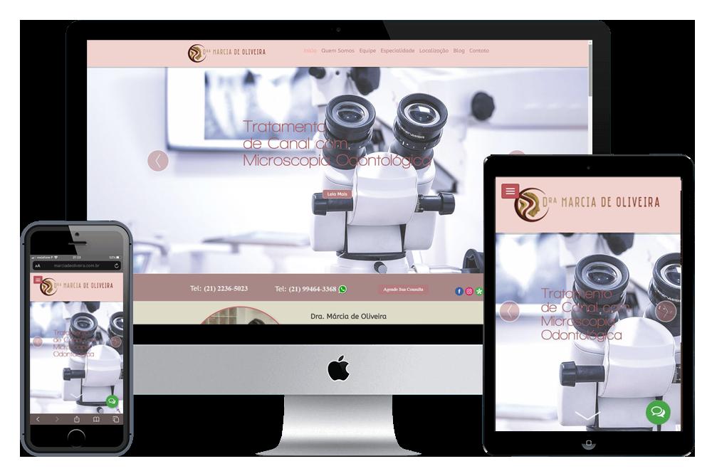 Criacão de Sites - Dra. Marcia de Oliveira