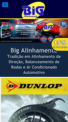 Big Alinhamento