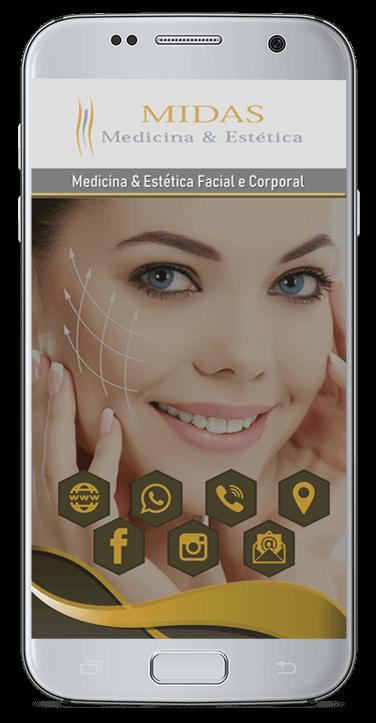 Cartão de Visita Virtual Digital Interativo - Midas